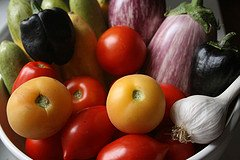 vegetables, home grown, harvest, fresh